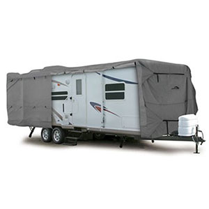 8. Camco ULTRAGuard Class C/Travel Trailer Cover (45743)