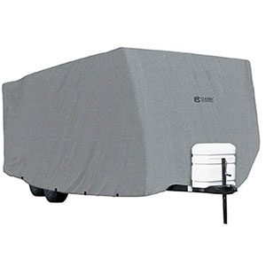 4. Classic Accessories PolyPRO 1 Travel Trailer RV Cover