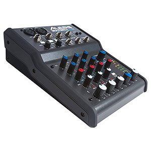 10. Alesis MULTIMIX4USB 4-Channel Mixer with USB Audio Interface