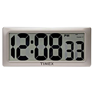 "6. Timex 13.5"" Large Digital Clock (75071TA2)"