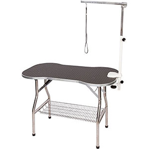 3. Flying Pig Grooming Heavy Duty Table with Arm/noose