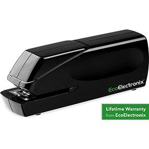 2. EcoElectronix EX-25 Automatic Electric Stapler