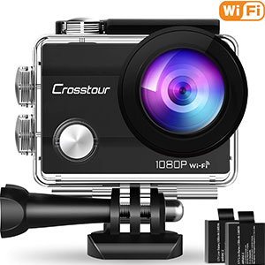 5. Crosstour 1080P Waterproof Sports Camera