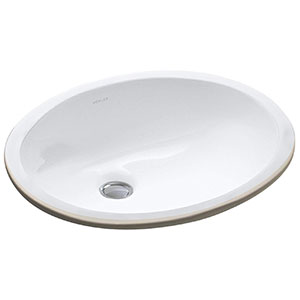 7. Kohler K-2209-0 Undercounter Bathroom Sink