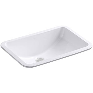 8. Kohler Undercounter Bathroom Sink (K-2214-0)