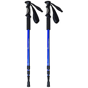 1. BAFX Products Hiking Trekking Trail Poles – 1 Pair