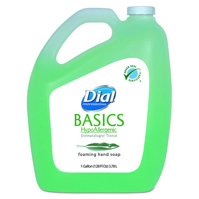 4. Dial 98612CT Foaming Hand Wash Refill, 1 Gallon Bottle