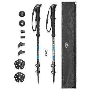 2. Cascade Mountain Tech Quick Lock Trekking Poles