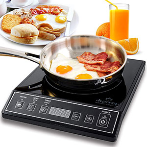 2. Secura 9100MC Portable Induction Black Cooktop