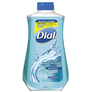 4. Dial 32 Fluid Ounces Hand Soap Refill (Spring Water)