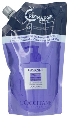 6. L'Occitane Lavender Cleansing Hand Wash Refill