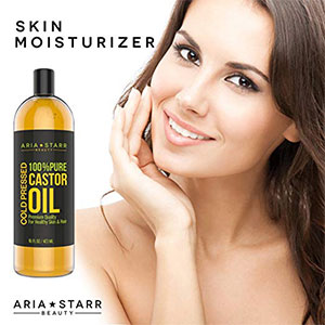 2. Aria Starr 16 FL OZ Castor Oil Cold Pressed