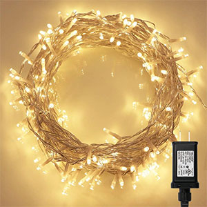 1. Koopower Indoor LED Christmas Tree Light