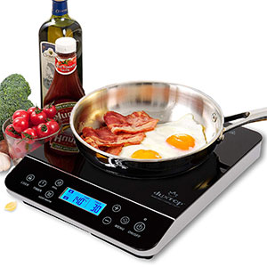 4. Duxtop LCD Portable Induction Cooktop