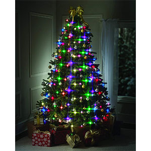 star shower dazzler led christmas tree light