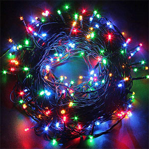 9. Fullbell 33-Feet Fairy Twinkle LED Christmas Tree Light