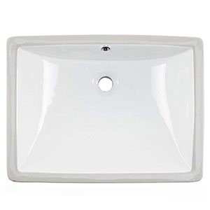 3. Friho Modern Rectangular Undermount Sink