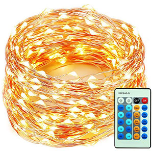 5. Decobree Warm White LED Christmas Tree Light
