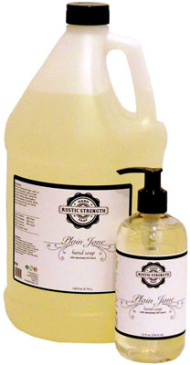 2. Rustic Strength 12oz Liquid Hand Soap Refill