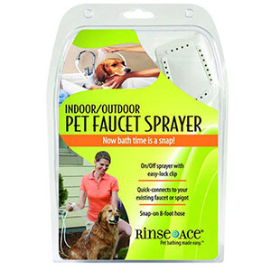 8. Rinse Ace Indoor and Outdoor Pet Shower Sprayer
