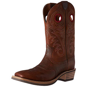 3. Ariat Heritage Comfortable Men Cowboy Boot