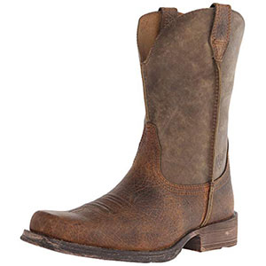 1. Ariat Rambler Comfortable Men Cowboy Boot