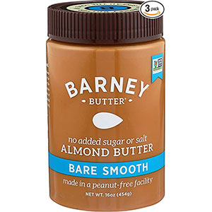 2. Barney Butter Bare Smooth Almond Butter