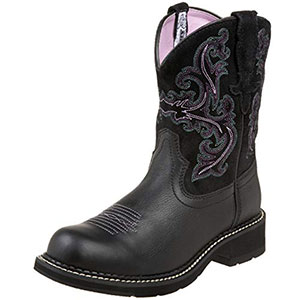 9. Ariat Fatbaby Women Cowboy Boot