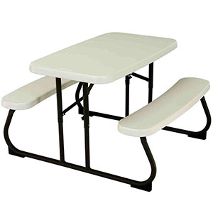 1. Lifetime 280094 Kid Picnic Table