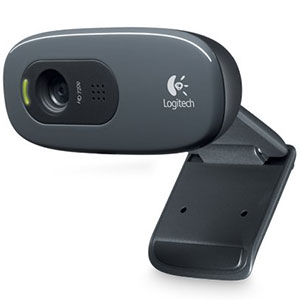 3. Logitech C270 Wireless Webcam