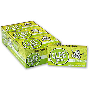 9. Glee Lemon Lime Gum Without Aspartame