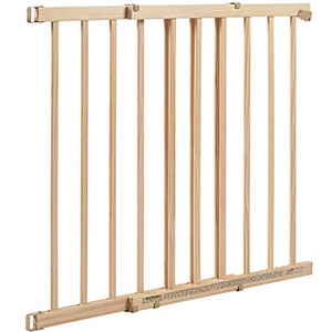 5. Evenflo Xtra Tall Wooden Baby Gate