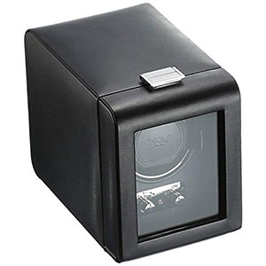 8. WOLF 270002 Single Watch Winder with Cover