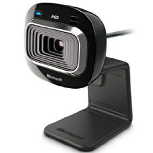 10. Microsoft HD-3000 Wireless Webcam
