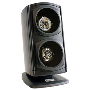5. Versa Automatic Double Watch Winder in Black (Newly Upgraded)
