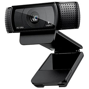 1. Logitech HD C920 Wireless Webcam