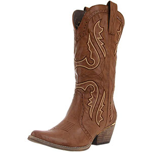 8. Very Volatile Women Cowboy Boot