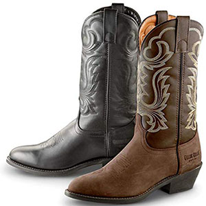 4. Guide Gear Comfortable Men Cowboy Boot