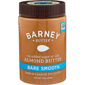 8. Barney Butter 16-Ounce Almond Butter