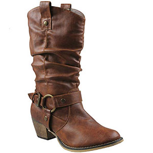 3. Refresh Wild-02 Women Cowboy Boot