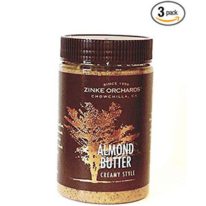 4. Zinke Orchards Almond Butter