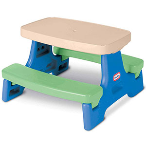 4. Little Tikes Kid Picnic Table