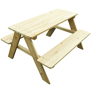 5. Merry Garden Kid Picnic Table