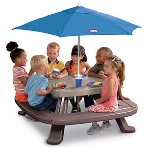 6. Little Tikes Kid Picnic Table