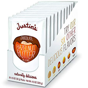 7. Justin's Nut Butter Chocolate Almond Butter