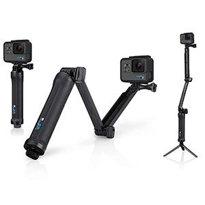 9. GoPro Grip, Arm, Tripod (3-Way)