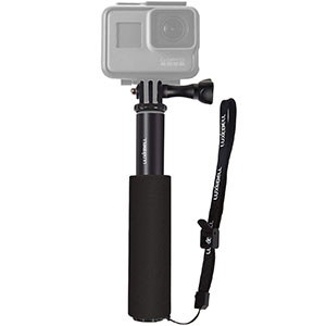 7. Luxeball Selfie Stick Pole with Phone Clip Holder