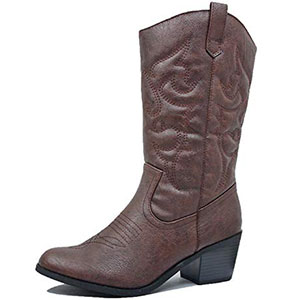 1. West Blvd Miami Women Cowboy Boot