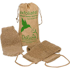 10. DeLaine's Exfoliating Back and Body Scrubber