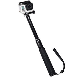 4. Shineda Telescopic Monopod Pole Selfie Stick